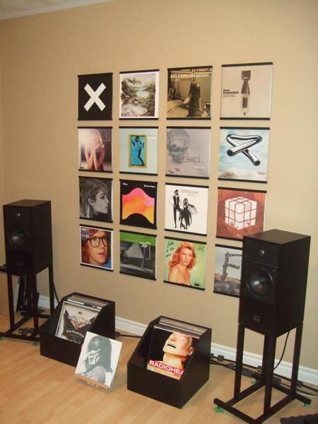 recordsonWalls - Vinyl Record Frames 19_vinyl_record_listening_room