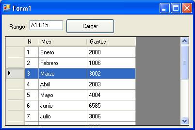 datagridview - مثال بسيط لتحميل مجموعة بيانات من ورقة Excel في DataGridView 64-excel-en-visual-basic-net