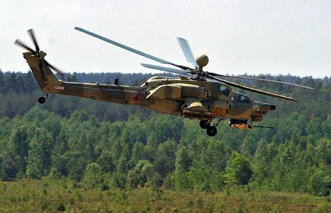 الجزائر طلبت شراء مروحيات Mi-28NE Mi-28N_Bouclier_2006_RIA_Novosti_