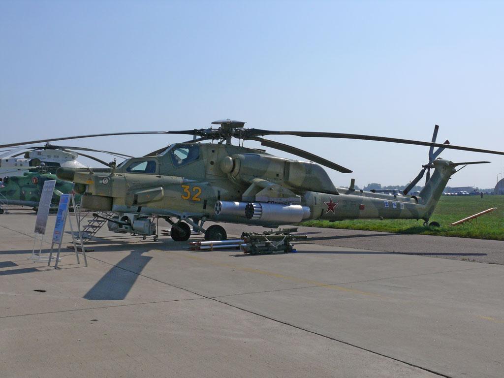 الجزائر طلبت شراء مروحيات Mi-28NE Mi-28_MAKS07
