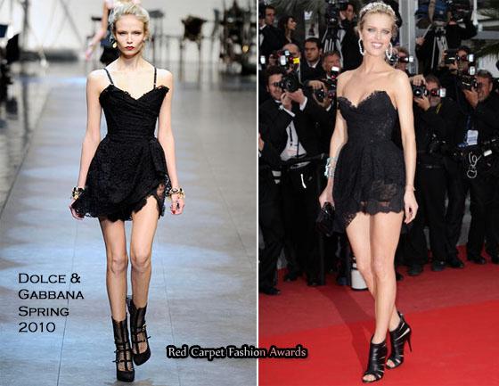 Red Carpet At Cannes Film Festival 2010 - Page 4 Eva-Herzigova-In-Dolce-Gabbana