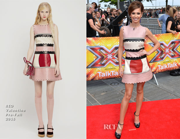Fashion, Moda, Maquillaje de Girls Aloud - Página 5 Cheryl-Fernandez-Versini-In-RED-Valentino-X-Factor-London-Auditions
