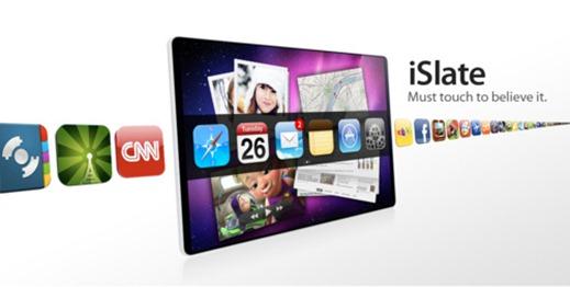 Tablet Pc apple fin janvier AppleTabletiSlate