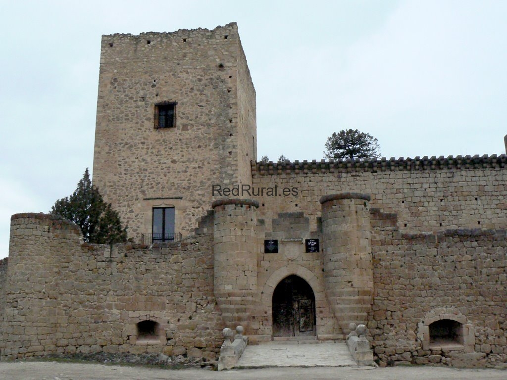 Leyenda del castillo de La Pedraza, en Segovia. Pedraza-Segovia-Castillo-2
