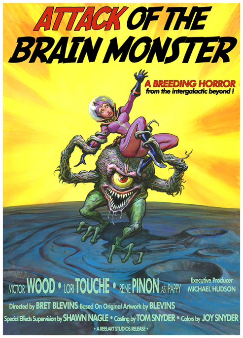 PINUP'S ATTACK OF THE BRAIN MONSTER Brainmonster011