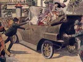 АДОЛЬФ ГИТЛЕР ПРОТИВ ГАБСБУРГОВ!! Archduke-assassination