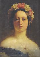 Секрет КОРОЛЕВЫ ВИКТОРИИ: ФЮРЕР АДОЛЬФ ГИТЛЕР БЫЛ ЕЕ ВНУКОМ! Close-up-portrait-of-queen-victoria