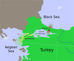 КОНСТАНТИНОПОЛЬ БЫЛ ИСТИННОЙ ПРИЧИНОЙ КОММУНИЗМА! Dardanelles