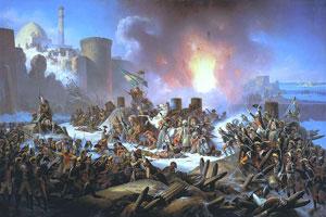 КОНСТАНТИНОПОЛЬ БЫЛ ИСТИННОЙ ПРИЧИНОЙ КОММУНИЗМА! Siege-of-ochakov