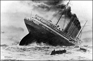 Секрет КОРОЛЕВЫ ВИКТОРИИ: ФЮРЕР АДОЛЬФ ГИТЛЕР БЫЛ ЕЕ ВНУКОМ! Sinking-of-lusitania