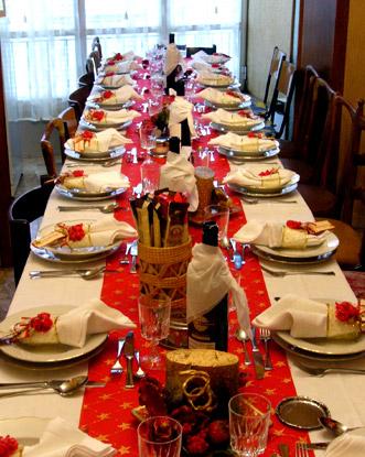 come apparecchiare la tavola x il pranzo di Natale Tavola-natale