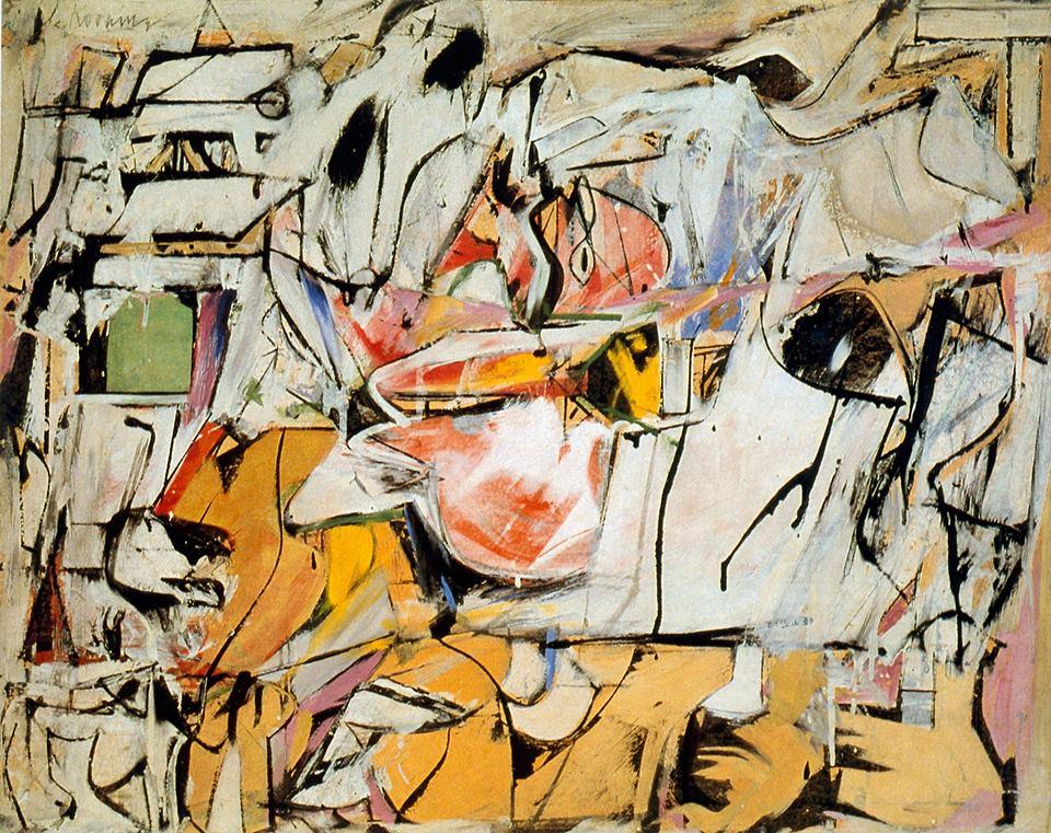 * une toile sur la toile * - Page 16 Willem-de-Kooning-Ashville.-1949