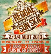 16 eme Reggae Sun Ska le 2,3,4 Aout 2013 a Pauillac News_reggae-sun-ska-2013