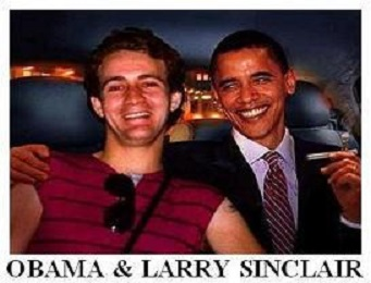 Michelle Is A Man & Obama Is Gay!! 2016  Conspiracy Larry-Sinclair-and-Obama