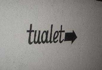 Placas e letreiros com mensagens engracadas... - Página 10 Tualet