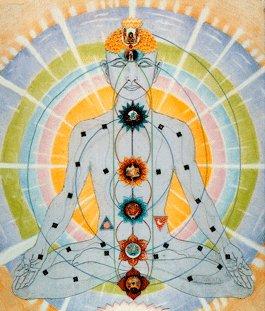 L'univers électrique  Chakras