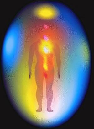 Les sept couches de l'aura, structures vibratoires, sensibles, réactives et intelligentes Aura-couches