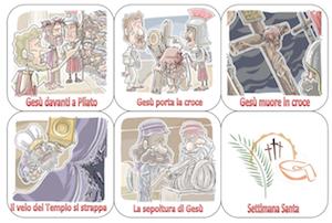 INSEGNARE RELIGIONE GIOCANDO Settimana-Santa