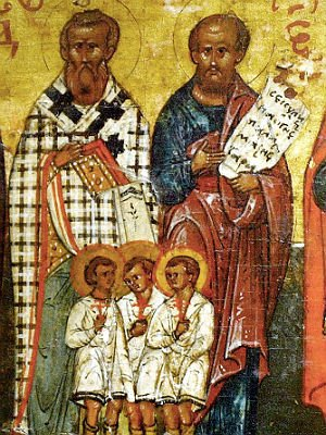 святые мученики за Христа - дети 1412868111_vavila-nikomidiyskiy-i-s-nim-84-detey