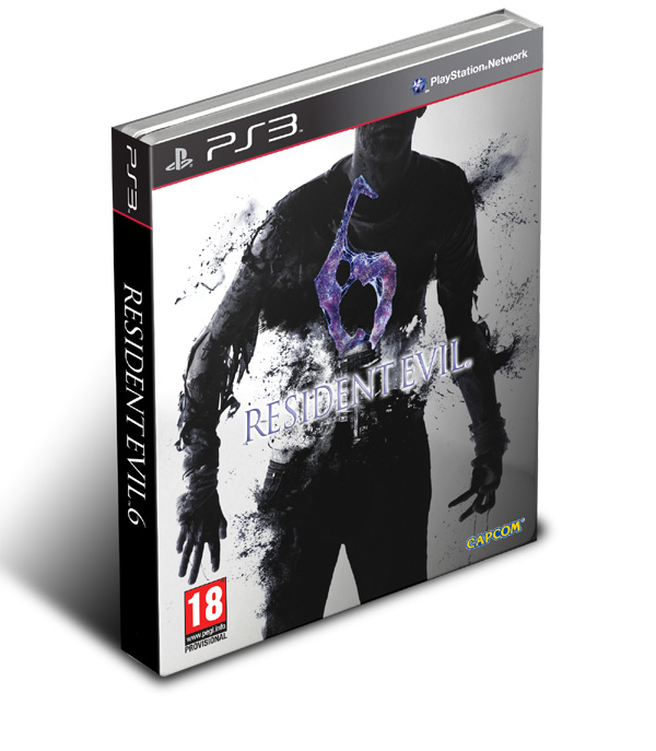 Most Wanted - Volume 6 RE6_PS3_Steelbook