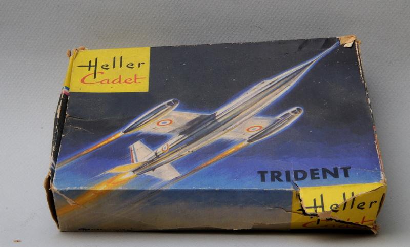 SNCASO SO 9000 TRIDENT 1/100ème Réf CADET L 015 Heller_Cadet_Trident