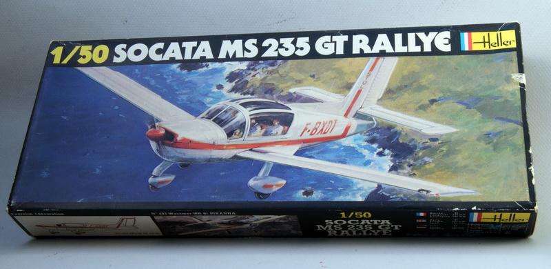SOCATA MS 235 GT RALLYE 1/50ème Réf 404 Heller_Rallye_MAS235