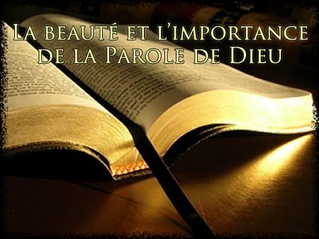 Foi et théologie/36/ Beaute-parole-de-dieu