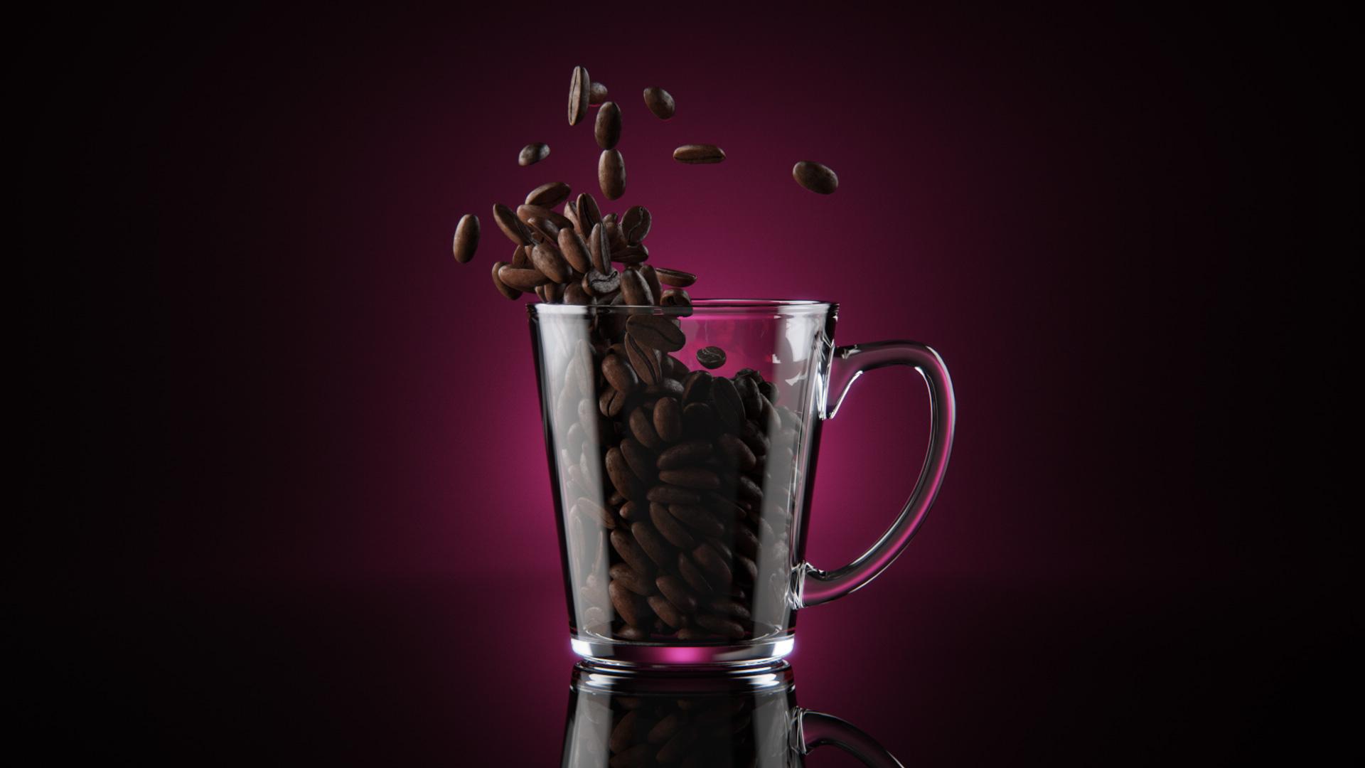 Realflow plugins  - Страница 2 Coffee-3d-model