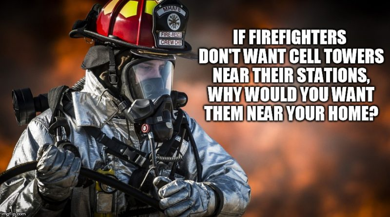 Firefighters Don't Want 5G Cell Towers Near Their Stations Meme-Firefighter-cell-tower-800x445