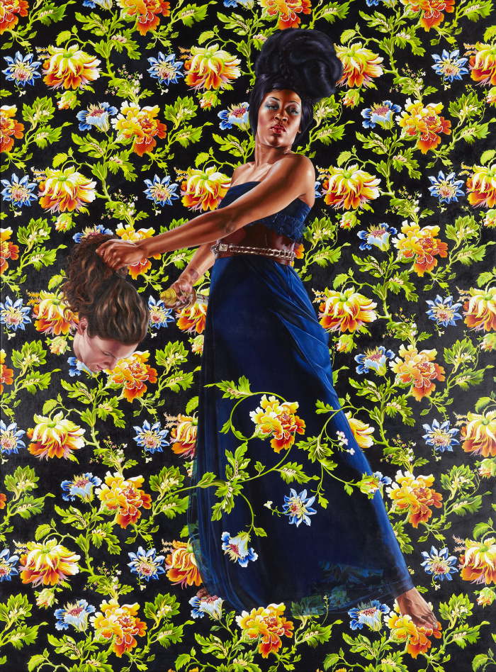 About that Michael Obama Painting... Judith_and_Holofernes_2012_6