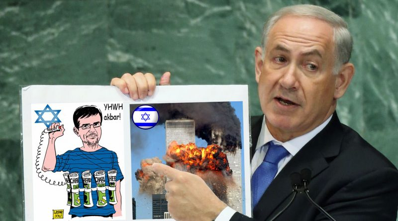 Israel Baits the Hook. Will Syria Bite? Israel-and-netenyahu-is-charlie-hebdo-and-isis-e1526132008525-800x445