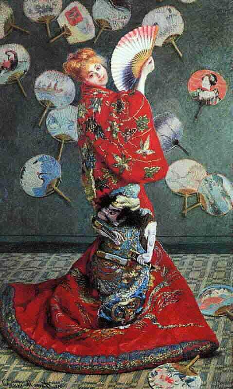 Zena na slikarskom platnu - Page 2 P_Monet_La_Japonese