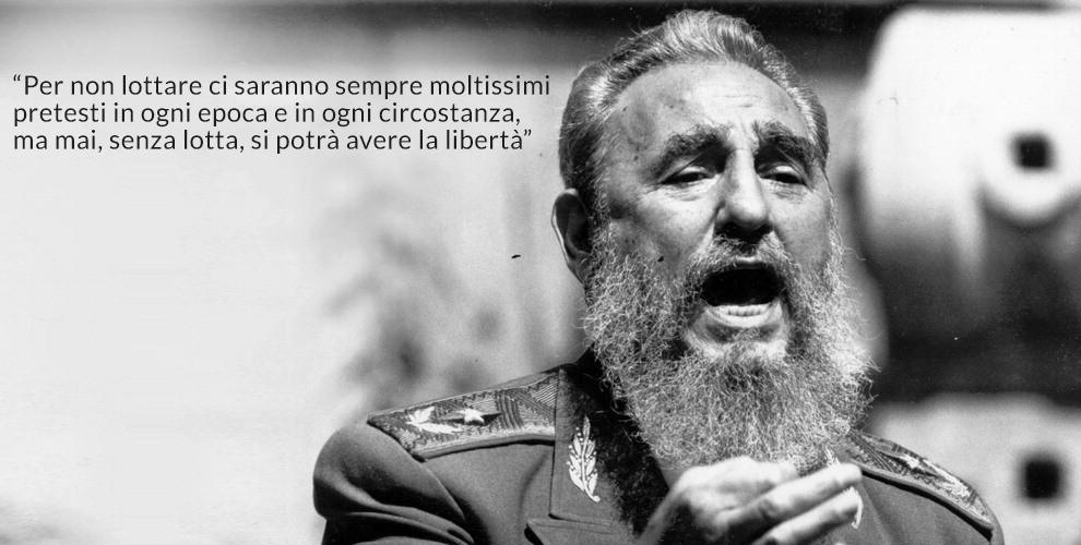 È morto Fidel Castro, portò la rivoluzione a Cuba 123801064-f9c6dd2b-72a9-463d-b6bd-974483c1eb81