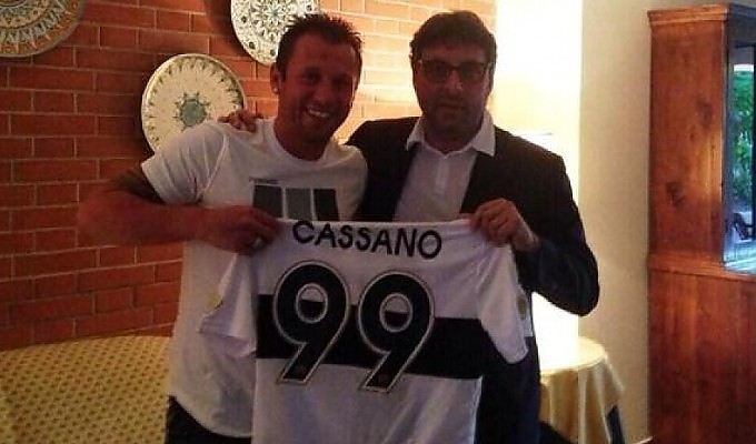 3 lug - tuttobari.com - UFFICIALE - Cassano è un giocatore del Parma 204545458-04dc33b7-44a8-4f71-b25c-c52872576795
