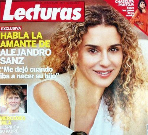 """Habla la amante de Alejandro Sanz: """"Me dejó cuando iba a nacer su hijo"""" Lecturas-Art"""
