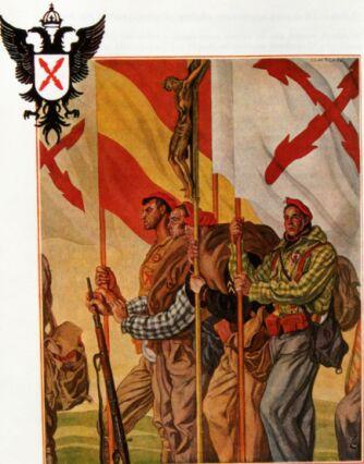 TERCIOS CATÓLICOS REQUETÉS Guerra Civil Española Abanlacarp