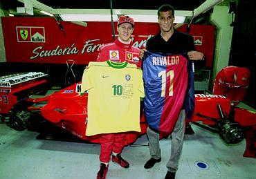 ¿Cuánto mide Michael Schumacher? - Altura - Real height Gpx489
