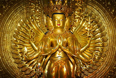 Dharma Wheel is now Constance 1000-Armed-Avalokiteshvara