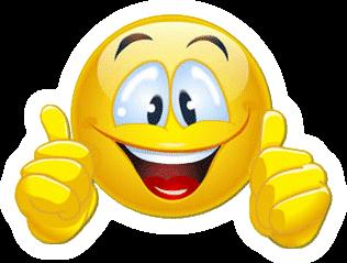 Journée mondiale du sourire  Smiley-deux-pouces-en-l-air-et-large-sourire-tr