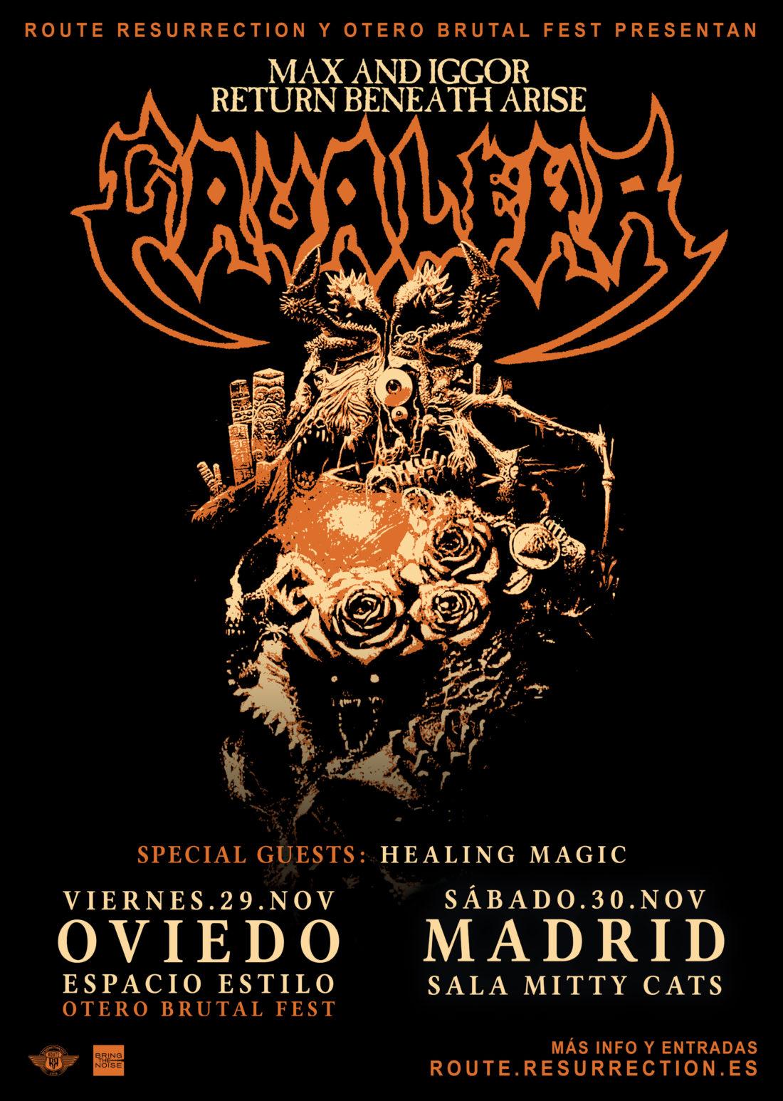 Sepultura y el thrash en general (que no solo se cuecen habas en SF) - Página 12 Max-Iggor-Cavalera-Return-Beneath-Arise-Spain-2019-Poster-1-1100x1546
