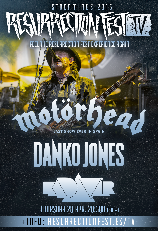 KADAVAR - Página 16 Resurrection-Fest-2015-Streamings-Motorhead-Kadavar-Danko-Jones