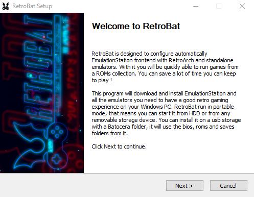 RetroBat v3.1 Setup