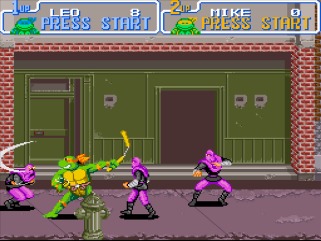 MEGADRIVE vs SUPER NINTENDO : Fight ! TMNT