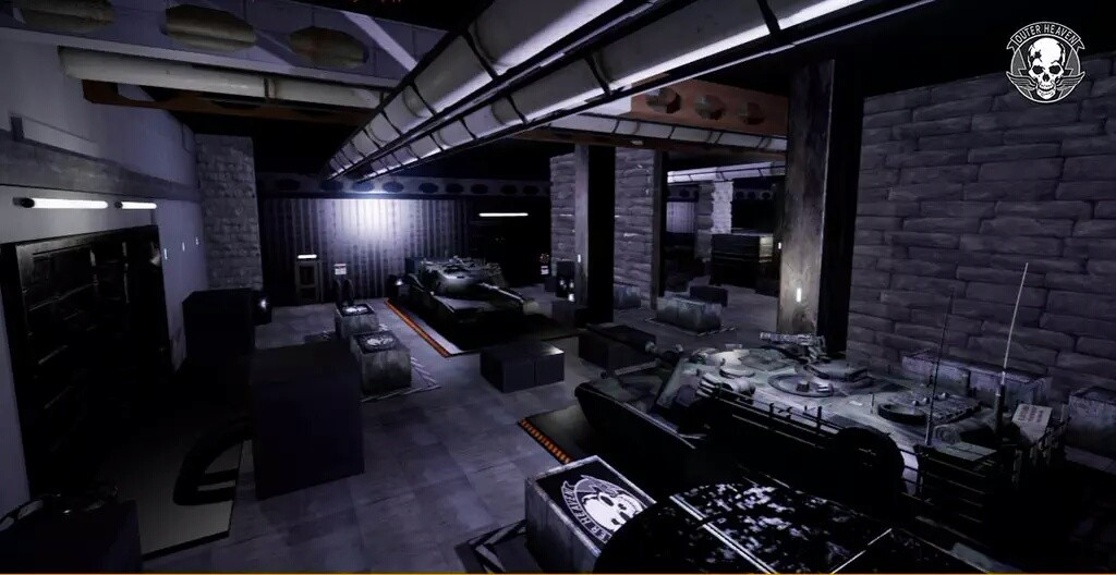 1ères images du remake du premier Metal Gear sous Unreal Engine 4 Outer-Heaven-Remake-Metal-Gear-002-1024x528