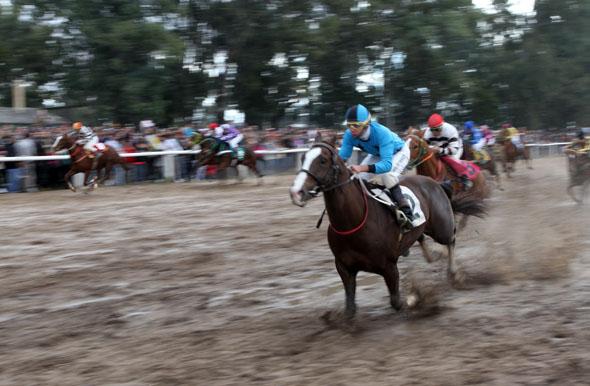 Hipódromo Real de San Carlos - Colonia Caballos-barro