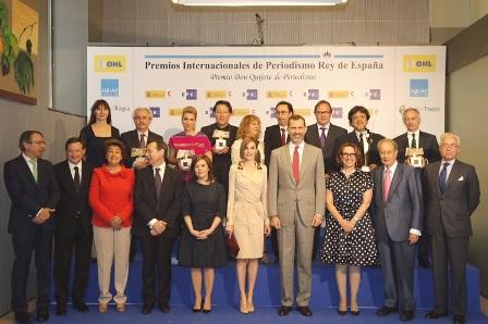 ¿Cuánto mide la Reina Letizia Ortiz? - Altura - Real height Reyes_Premios_Rey_Quijote_20150507_11