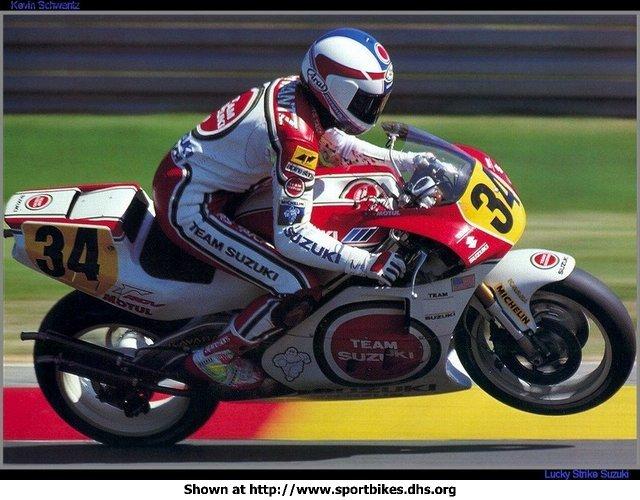 Lendas do Moto GP 1990SeriesKevinSchwantz