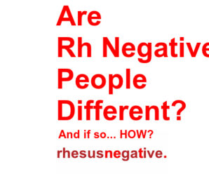 Toxins affect rh negative people more than rh positive people Different-298x248