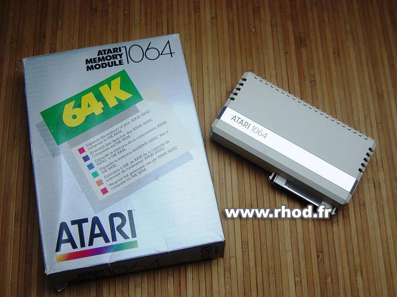 Le jeu du nombre - Page 5 Atari_1064_memory