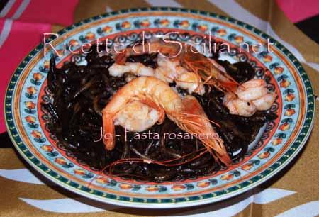 Primi piatti Siciliani  Pasta-rosanero-1